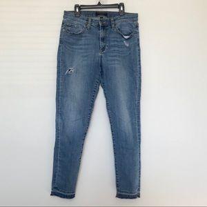 Banana Republic High Rise Skinny Denim Jeans 29